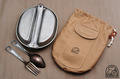 U.S. メスキットパン用収納袋 帆布ベージュ