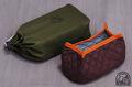トランギア メスティンTR210用 収納袋セット 帆布外袋(OD色)と内袋(チョコ+橙縁)