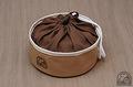 トランギア ケトル0.9L用収納袋 ●帆布ベージュ+ブラウン