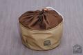 トランギア ストームクッカー Sサイズ 用収納袋 ●帆布ベージュ+ブラウン