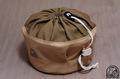 トランギア ストームクッカー Lサイズ 用収納袋 ●帆布ベージュ+ダークベージュ