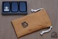 ハーフパン12色メタルボックス用 収納袋(帆布ベージュ)