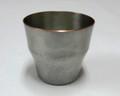 銅製 ロックカップ 竹模様(白銀)
