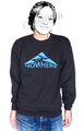 "SaturDIY Womens 9oz Crew Neck Sweat - ""Mid of Nowhere"""