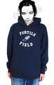 "SaturDIY Womens 9oz Sweat Hoodie - ""Fertile Field"""