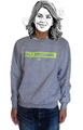 "SaturDIY Womens 9oz Crew Neck Sweat - ""Fully Aircleaned"""