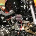 Steady Garage Chimera SHORT RAM AIR INTAKE SYSTEM KAWASAKI Z125 PRO