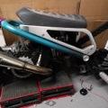 Machined Machines Billet Seat Frame Zoomer/Ruckus
