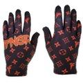 1FNGR Black Red Louis Gloves