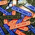 """SCR_WORKS """"WORKS"""" Logo Keychain"""