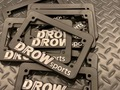 "DROWsports ""Classic"" License Plate Frame"