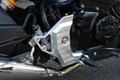 PSR SBK Front Footpegs Black GROM/MSX125