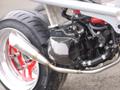 DROWsports Honda Ruckus GTN Radiator Cooling Scoop