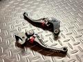 ASV C5 Shorty Brake & Clutch Lever Set Black GROM/Monkey125