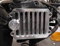 """Machined Machines """"Blind"""" Radiator Cover Zoomer/Scoopy"""