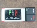 BUFFALO AirStation HighPower 11a/g/b ハイパワー CardBus用 無線子機 WLI-CB-AGHP