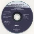 DELL 再インストールDisk windows Vista Business 32bit SP1