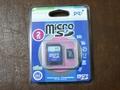 pqi microSDメモリカード2GB アダプタ付