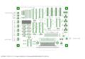 CNCインターフェース用基板セット 26Pヘッダー付き