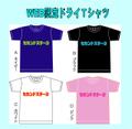 2018 オリジナルWEB限定ドライTシャツ S~XL