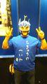 宇宙銀河戦士アンドロスTシャツ 『ちきゅうのへいわ』