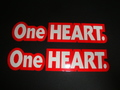 One HEART.