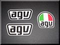 新デザイン AGV ステッカーセット