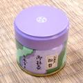 【生産量日本一】愛知県西尾茶の抹茶「極昔」(薄茶用):缶入り(30g)【葵製茶】
