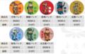 ブロック武将缶バッチシリーズ