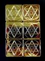 SEゴールドメタル小型瞑想6枚組