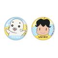 『少年アシベ Go!Go!ゴマちゃん』缶バッジセット A:アシベ&ゴマちゃん