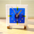 フュージングの置時計