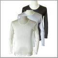 3/30(金)から値上げ 紳士絹シルク100% メンズ長袖インナーシャツ男性 冷えとり下着アトピーに ギフトにも