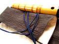 オーダーメイド尺八袋 紬 (~1.8寸用)