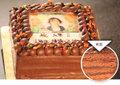 写真ケーキDXサイズ(ガナッシュチョコ)