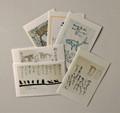 畑正憲◆詩画集ポストカードⅡ 6枚組