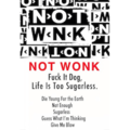 NOT WONK / Fuck It Dog, Life Is Too Sugarless [TAPE+MP3]