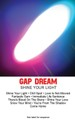 Gap Dream - Shine Your Light - Cassette