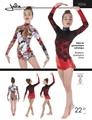 新体操ドレス型紙 / Jalie 3356