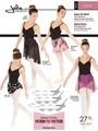 バレエ ラップスカート型紙 / Jalie 3459印刷用