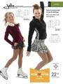 ウォームアップジャケット & スケーティングスカート型紙 / Jalie 2456 印刷用