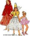 仮装用コスチューム型紙 / 女の子用ドレスアップ #2618