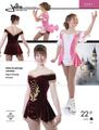 プリンセススケーティングドレス型紙 Jalie #2791