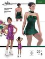 フィギュアスケート用ドレス型紙 / Jalie 2684 印刷用