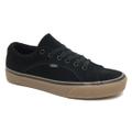 【VANS】 LAMPIN SUEDE Skate Shoes BLACK/GUM シューズ