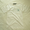 【Cafe Racer's MET】S/S T-SHIRTS (Back Print)Natural