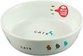 337 猫用陶器食器 並んだ猫