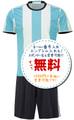 アルゼンチン代表ホーム16/17(エンブレムなし)2016年~2017年,サッカーフットサルユニフォーム