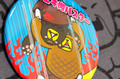 缶バッジ(大) 【ヒキ肉バスター】