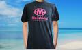 ピンク&ホワイトロゴTシャツ